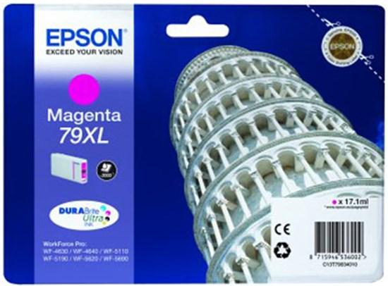Immagine di Epson C13T79034010 - Serbatoio Torre di Pisa Magenta XL