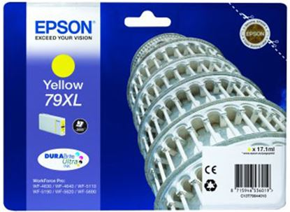 Immagine di Epson C13T79044010 - Serbatoio Torre di Pisa Giallo XL