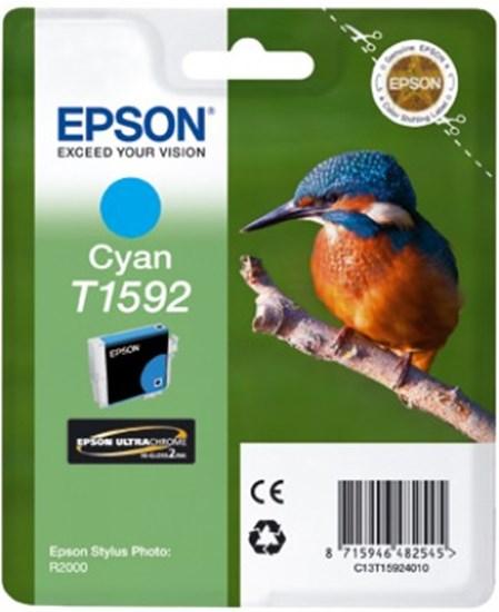 Immagine di Epson C13T15924010 - Cartuccia Martin Pescatore Ciano XL