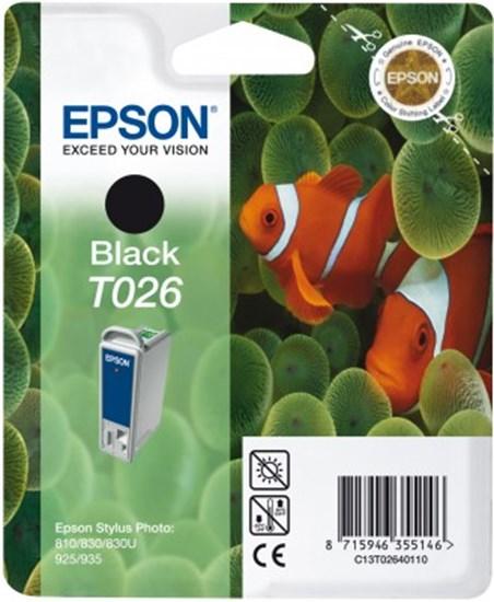 Immagine di Epson C13T02640120 - Cartuccia Pesce Pagliaccio Nero