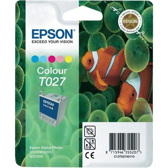 Immagine di Epson C13T02740110 - Cartuccia Pesce Pagliaccio Colore