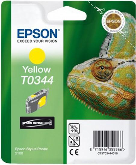Immagine di Epson C13T03444010 - Cartuccia Camaleonte Giallo