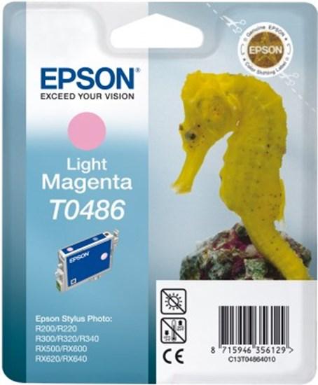 Immagine di Epson C13T04864020 - Cartuccia Cavalluccio Marino Magenta Chiaro
