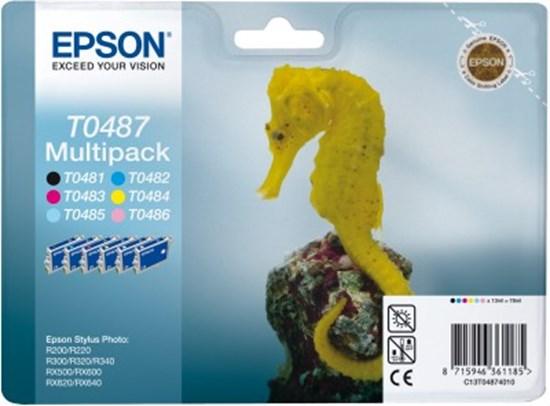 Immagine di Epson C13T04874020 - Multipack Cavalluccio Marino