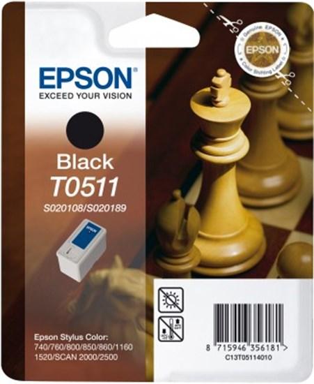 Immagine di Epson C13T05114010 - Cartuccia Scacchi Nero