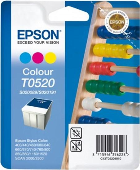 Immagine di Epson C13T05204020 - Cartuccia Abaco Colore