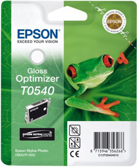 Immagine di Epson C13T054040 - Cartuccia Raganella Gloss Optimizer