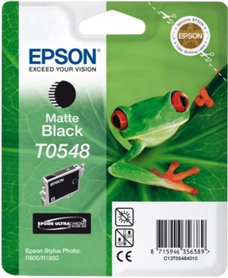 Immagine di Epson C13T05484020 - Cartuccia Raganella Nero Matte