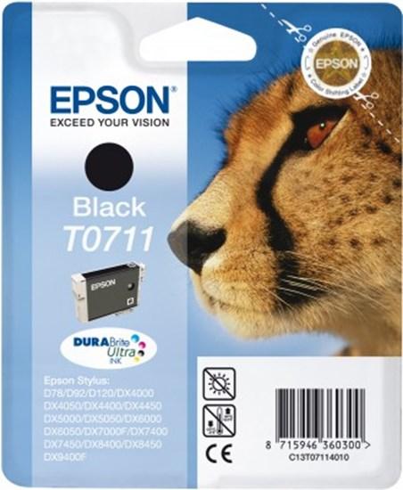 Immagine di Epson C13T07114010 - Cartuccia Ghepardo Nero