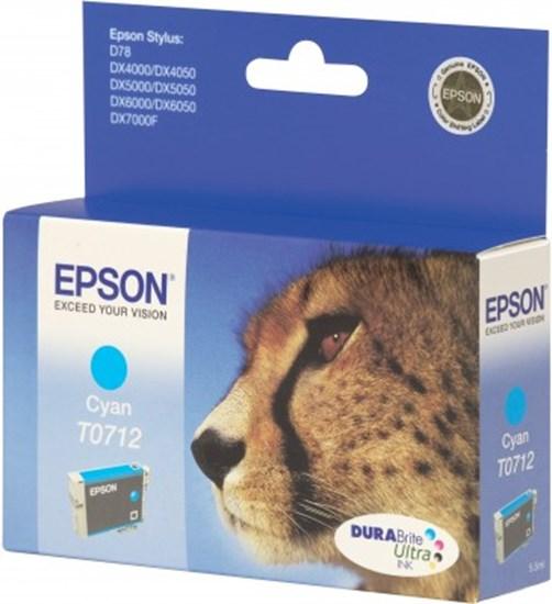 Immagine di Epson C13T071240 - Cartuccia Ghepardo Ciano