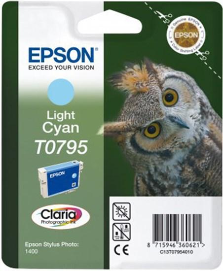 Immagine di Epson C13T07954020 - Cartuccia Gufo Ciano Chiaro