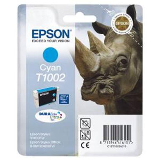 Immagine di Epson C13T10024020 - Cartuccia Rinoceronte Ciano