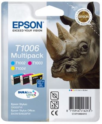 Immagine di Epson C13T10064010 - Multipack Rinoceronte