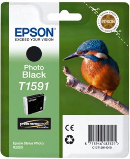 Immagine di Epson C13T15914010 - Cartuccia Martin Pescatore Nero Foto XL