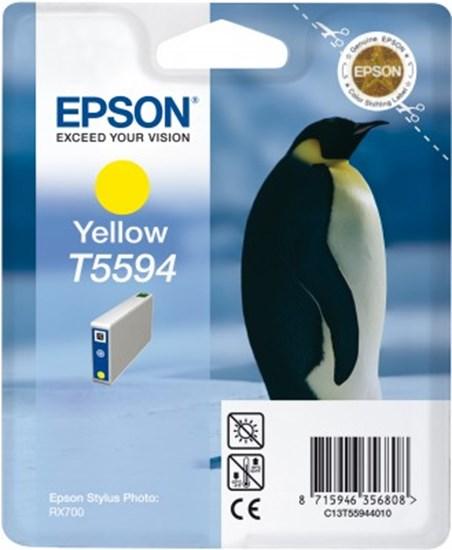 Immagine di Epson C13T55944020 - Cartuccia Pinguino Giallo