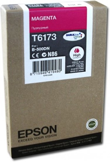 Immagine di Epson C13T617300 - Serbatoio Magenta XL