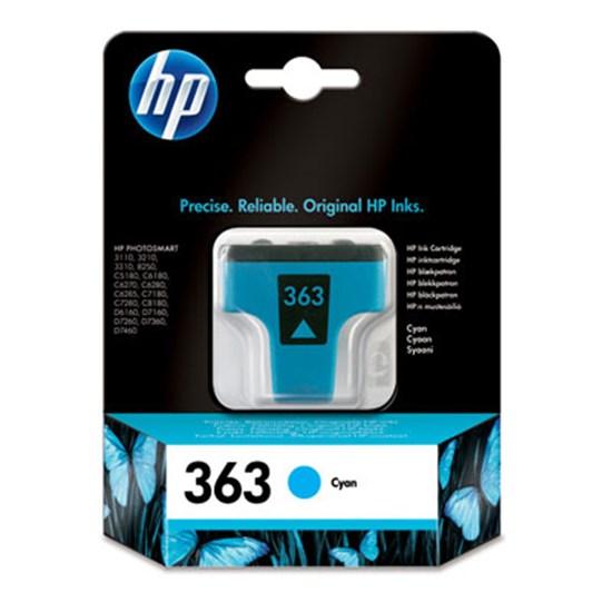 Immagine di HP C8771EE - Cartuccia ciano cod. 363