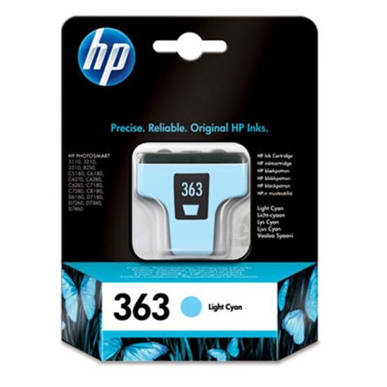 Immagine di HP C8774EE - Cartuccia ciano light cod. 363