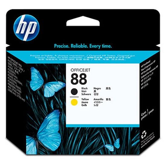Immagine di HP C9381A - Testina nero/giallo cod. 88