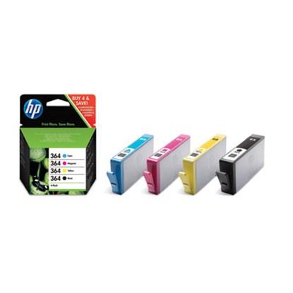 Immagine di HP J3M82AEBL - Cartuccia 4 colori cod. 364