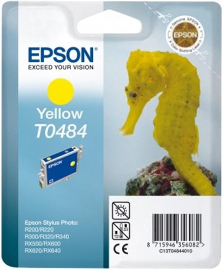 Immagine di Epson C13T04844020 - Cartuccia Cavalluccio Marino Giallo