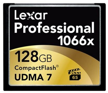 Immagine di Lexar Compact Flash 128 GB 1066x UDMA7
