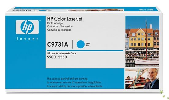 Immagine di HP C9731A - Toner ciano 31A