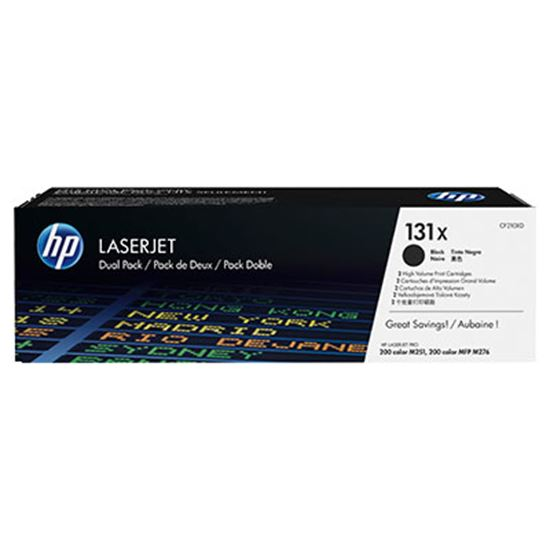 Immagine di HP CF210XD - Toner nero 131X (2 pezzi)