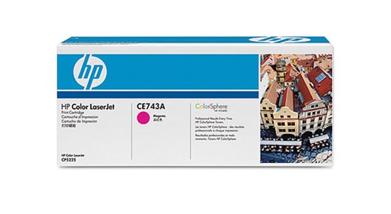 Immagine di HP CE743A - Toner magenta 307A