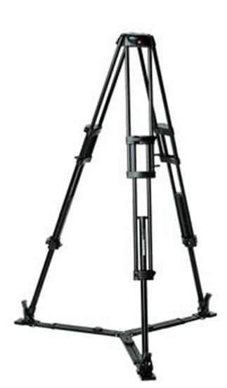 Immagine di Manfrotto 546GB - Treppiedi in alluminio 2 stadi - Culla 75mm - Base Stella