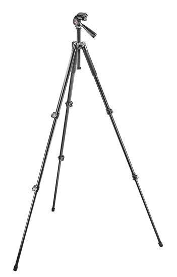 Immagine di Manfrotto MK293A3-A3RC1 - Treppiedi 293 + testa 3 movimenti Quick Release RC1