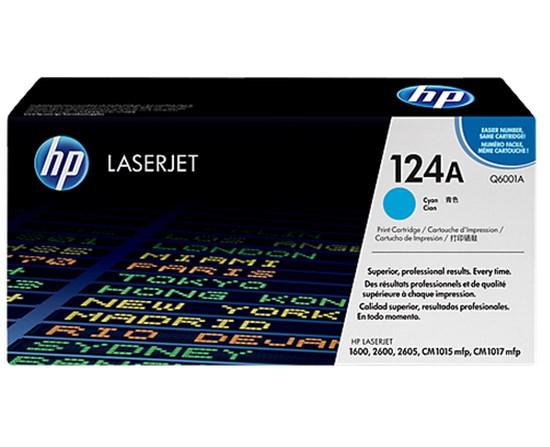 Immagine di HP Q6001A - Toner ciano 124A