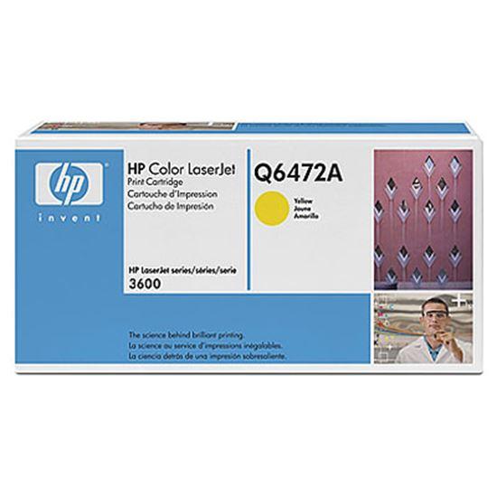 Immagine di HP Q6472A - toner hp Color laserjet 3600  - giallo