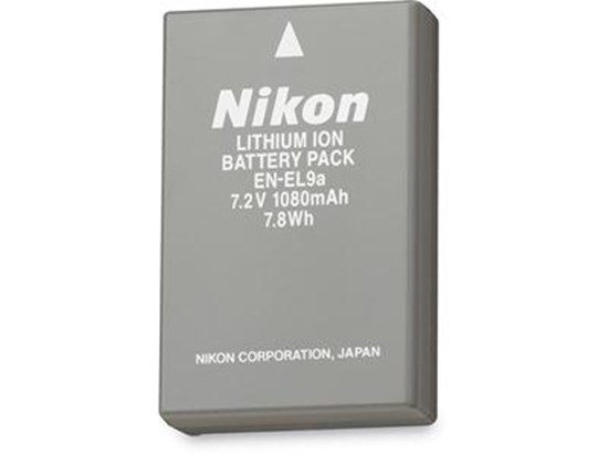 Immagine di Nikon EN-EL9A - Batteria ricaricabile