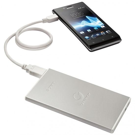 Immagine di Sony CP-F1LSA - Caricabatterie USB 3500 mAh + adattatore AC