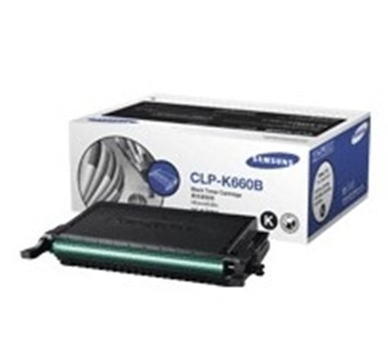 Immagine di Samsung CLP-K660B - Toner nero
