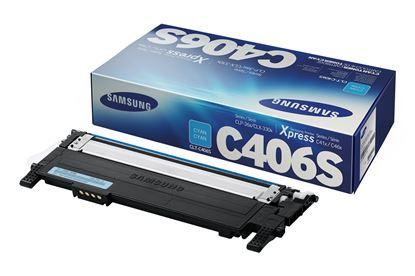 Immagine di Samsung CLT-C406S - Toner ciano