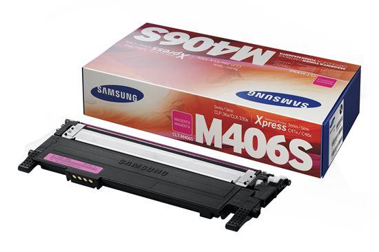 Immagine di Samsung CLT-M406S - Toner magenta