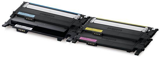 Immagine di Samsung CLT-P406C - Kit 4 Toner (Nero, Ciano, Magenta, Giallo).