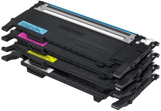 Immagine di Samsung CLT-P4072C - Kit 4 toner (Nero, Ciano, Magenta, Giallo).