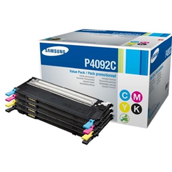 Immagine di Samsung CLT-P4092C - Kit 4 toner (Nero, Ciano, Magenta, Giallo).