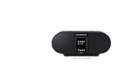 Immagine di Sony ZSS4IPB - Cd BoomBox for Ipod & Iphone