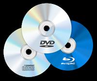 CD - DVD - Blu Ray