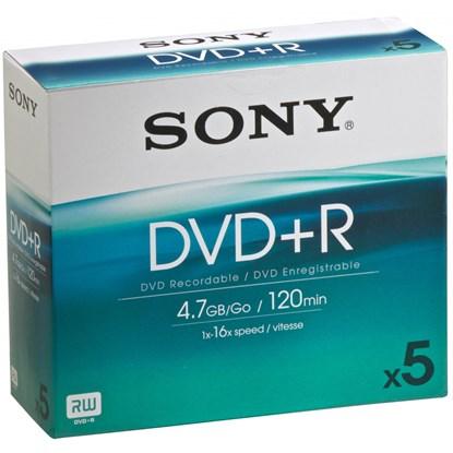 Immagine di Sony DVD+R 4,7 GB