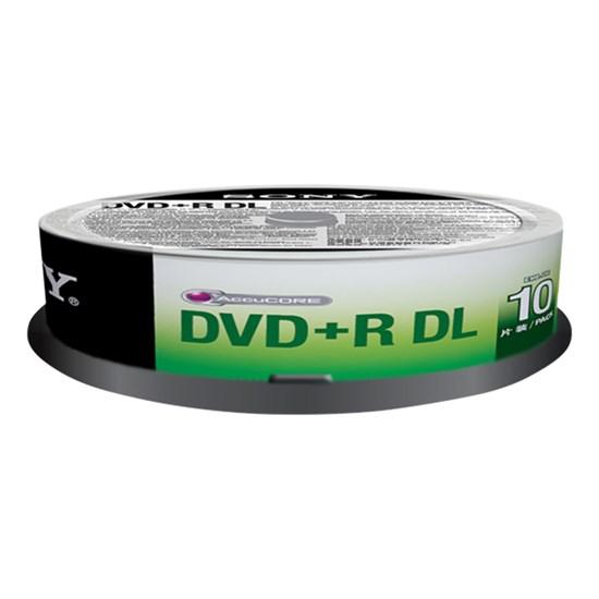 Immagine di Sony DVD+R DL 8,5 GB - Spindle 10 pezzi