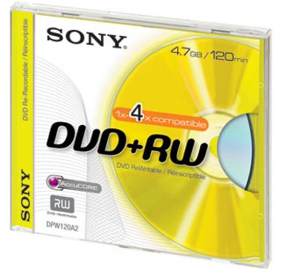 Immagine di Sony DVD+RW 4,7 GB