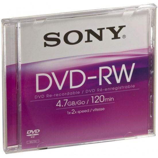 Immagine di Sony DVD-RW 4,7 GB