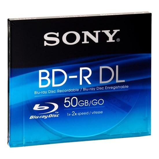 Immagine di Sony BD-R DL 50 GB