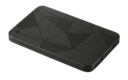 Immagine di Urban Revolt 20248 - PowerBank 1800T Ultra-thin Portable Charger - black pattern