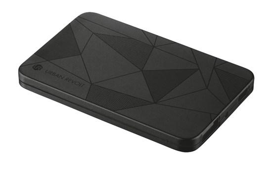 Immagine di Urban Revolt 20248 - PowerBank 1800T Ultra-thin Portable Charger - black pattern
